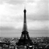 Eiffel View Art Print