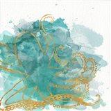 Watercolor Sealife I Art Print