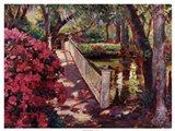 Shady Promenade Art Print