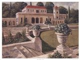 Villa de Espana I Art Print