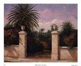 Palm Gate I Art Print