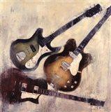 Guitars I Art Print