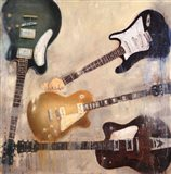 Guitars II Art Print