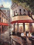 Parisian Stroll Art Print