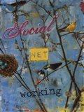 Social Networking Art Print