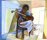 Little Musician II Art Print