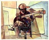 Little Musician Art Print