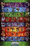 Skylanders Swap Force - Grid Art Print