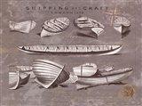 Shipping and Craft II Art Print