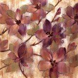 Magenta Branch II Art Print