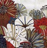 Contemporary Gardens I Art Print