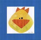 Yellow Duck Art Print