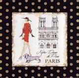 Ladies in Paris IV Art Print