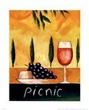 Picnic Art Print
