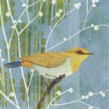 Blue Sky Songbird I Art Print