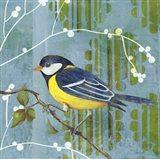Blue Sky Songbird II Art Print