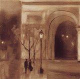 Seine Twilight Detail Art Print