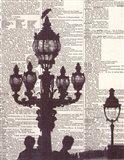Architectural Paris III Art Print